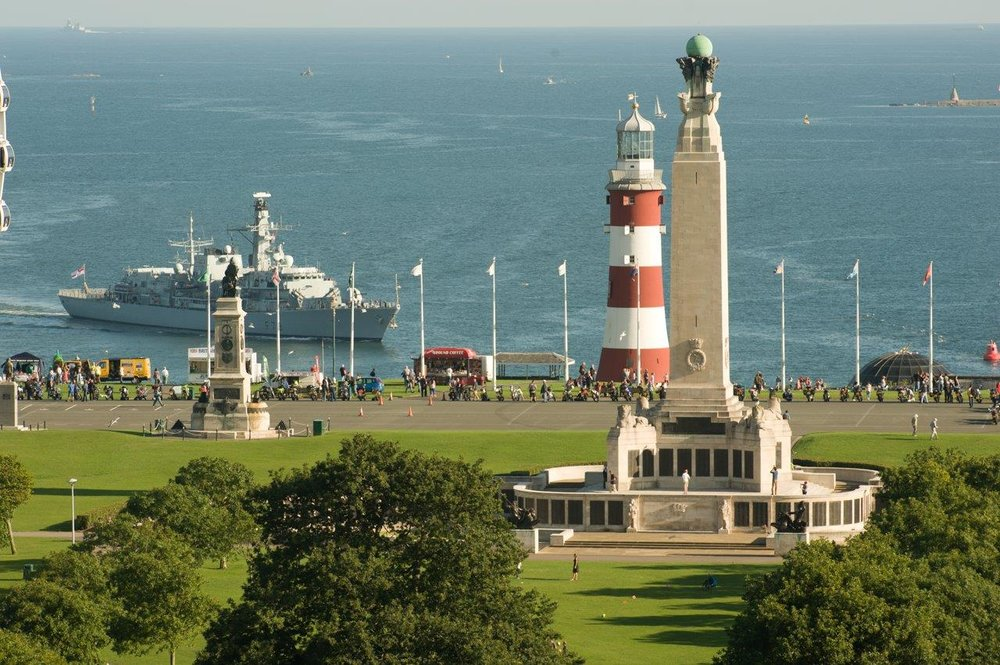 CWGC Plymouth Naval Memorial