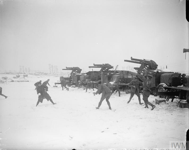 British anti-aircraft guns, Arras 1917