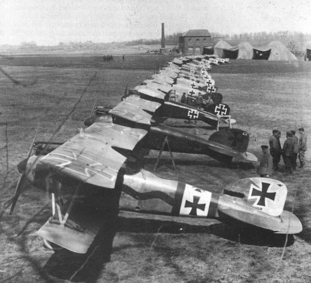 The Red Barons Squdron, March 1917