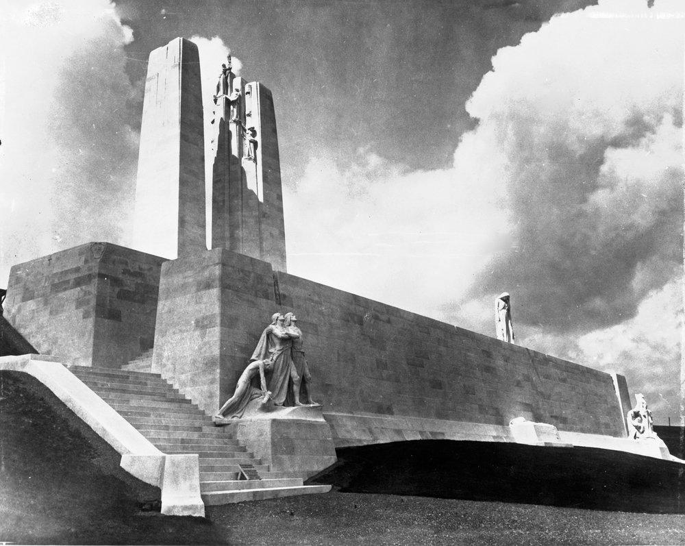 The Vimy Memorial © CWGC