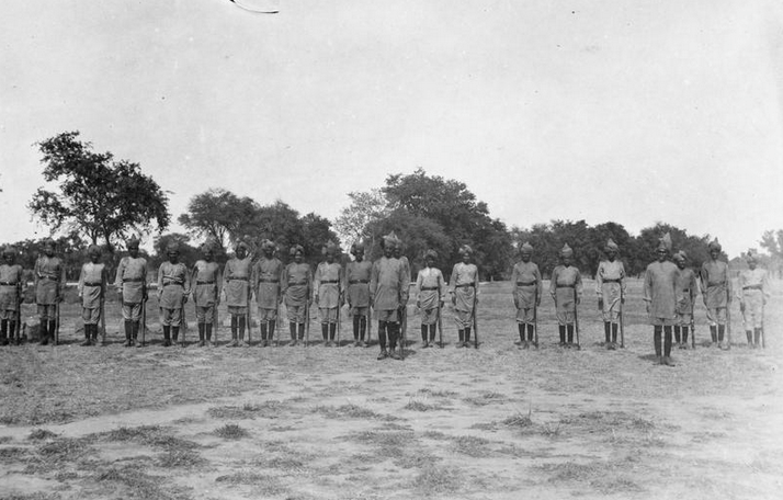 Men of the 53rd Sikhs who were part of the 28th Brigade that took part in a majority of the operations in the theatre (©IWM Q 52595)