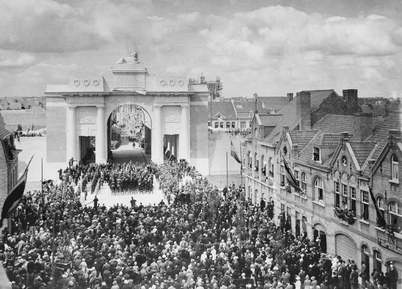 The u nveiling   of CWGC Menin Gate Memorial