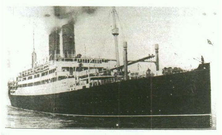 British vessel the SS Tuscania