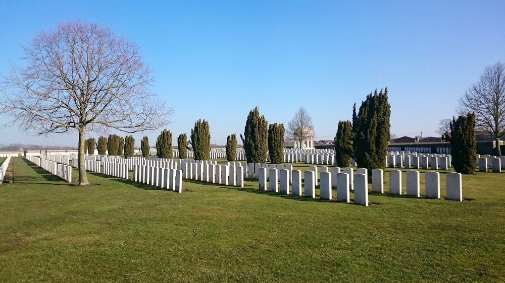 CWGC Bedford House Cemetery