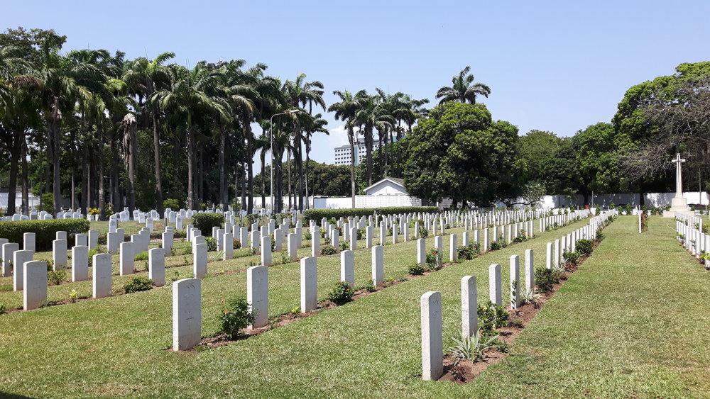 Christianborg War Cemetery, Accra