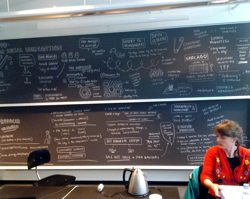 """Byen er ikke jeres - og den bliver det aldrig"". Teaching Semester Course at University of Copenhagen, Modern Culture. 2011"