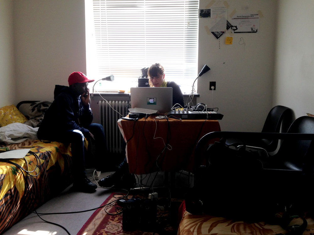 The Bridge Radio. Live from Sjælsmark deportation Camp, 2016