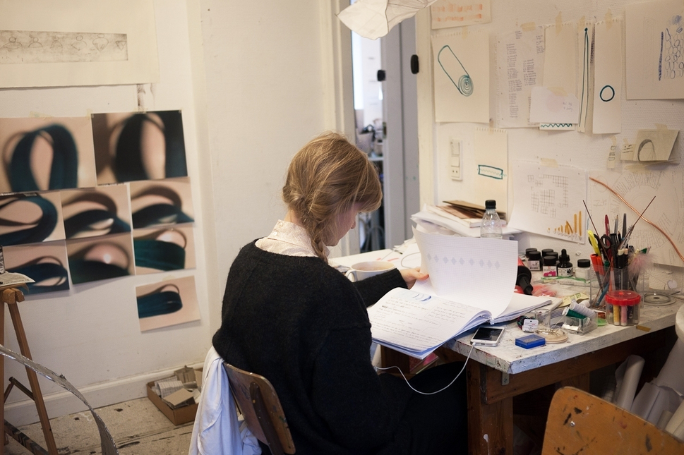 Copenhagen Art School. Individual studio visits