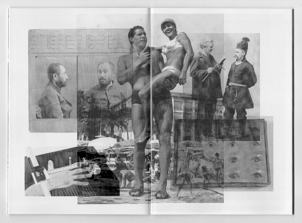 Three Man High. Book spread, Book III, 2014