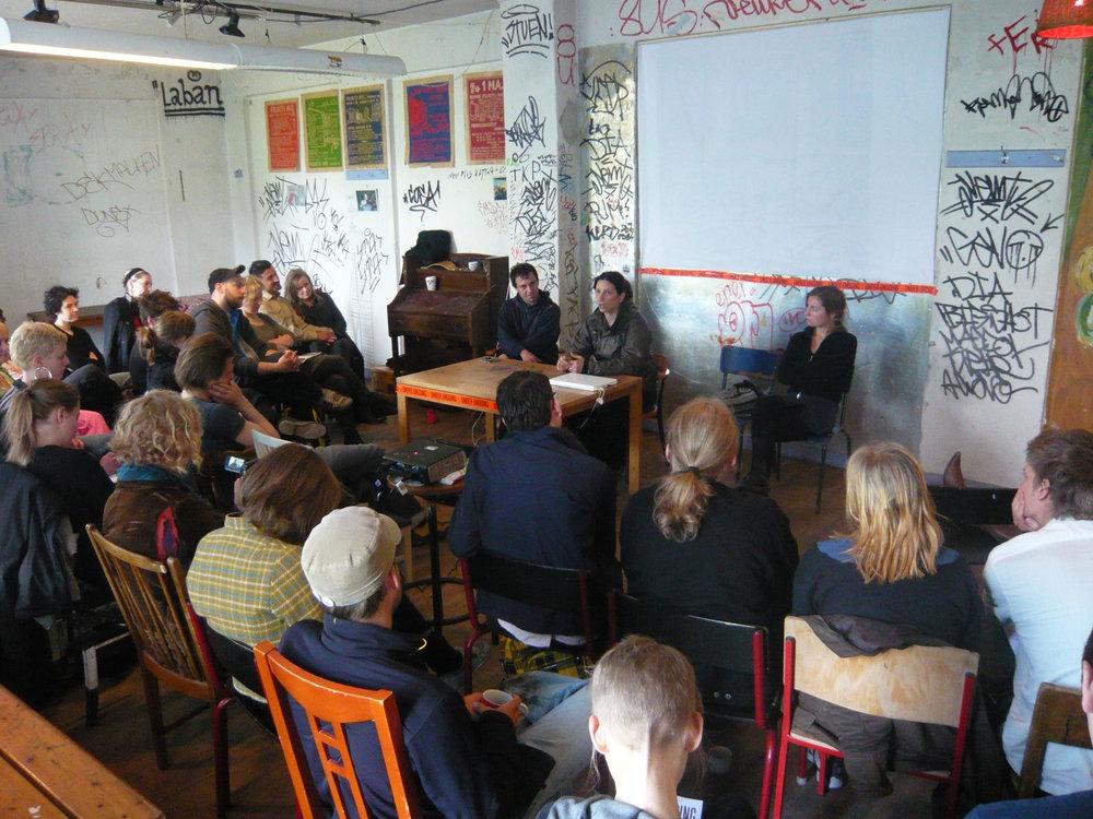 Undoing The City. Talks and seminars, 2009