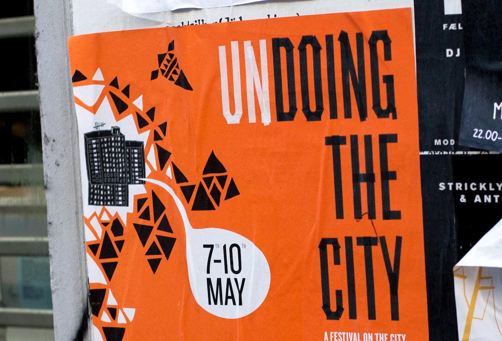 Undoing The City. A 4-days festival on the city, 2009