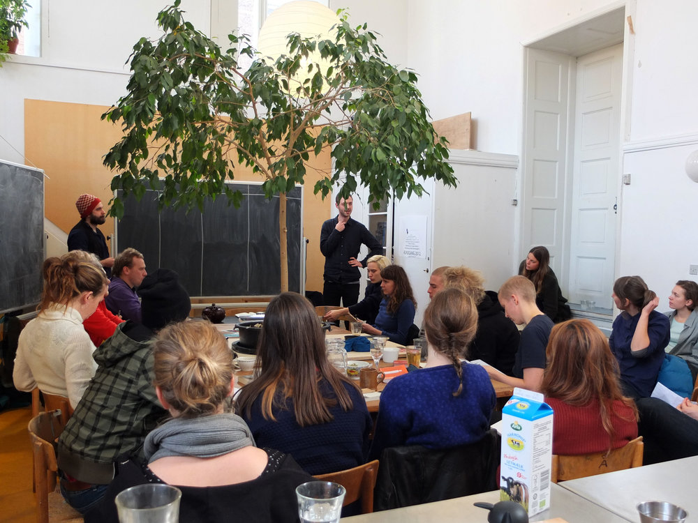 """""""Autonomy in Crisis"""". Teaching at the School of Wall & Space at The Danish Academy of Visual Arts. 2012"""