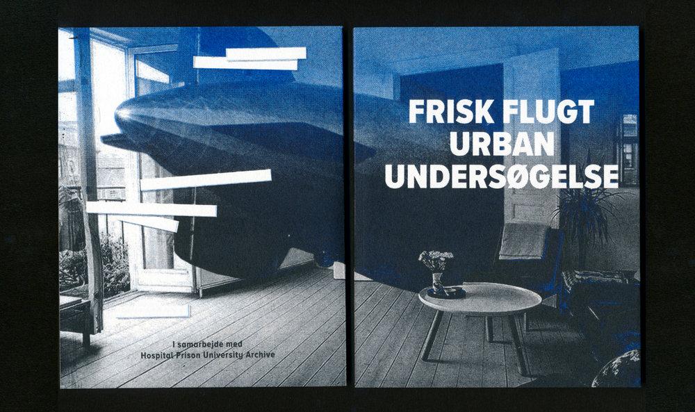 Frisk Flugt klipper i Blød By - Book (52 pages), In collaboration with Hospital Prison University Archive, 2018