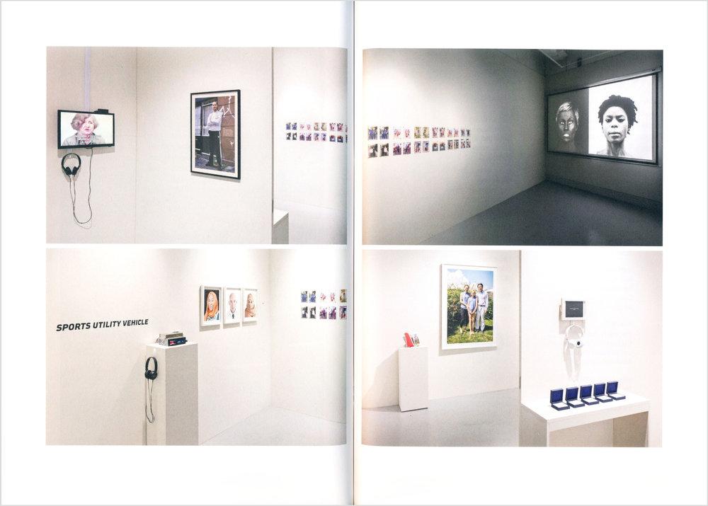Crossing the Line: Contemporary Art from Denmark, Critical Distance, Toronto. Catalogue spread, 2016