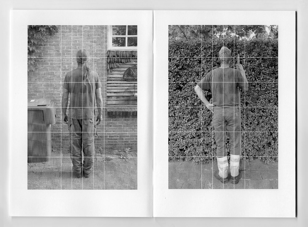 Three Man High. Book spread, Book II, 2014