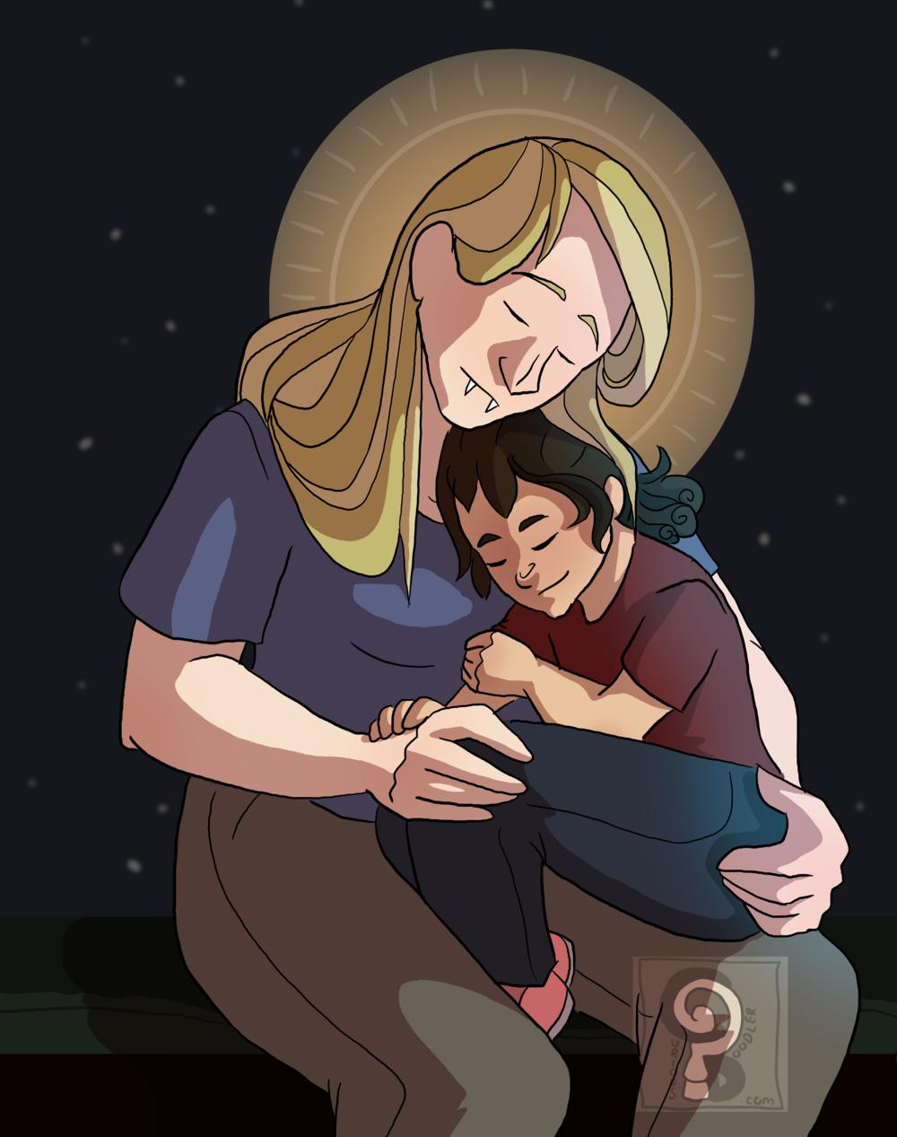 Madona and Child