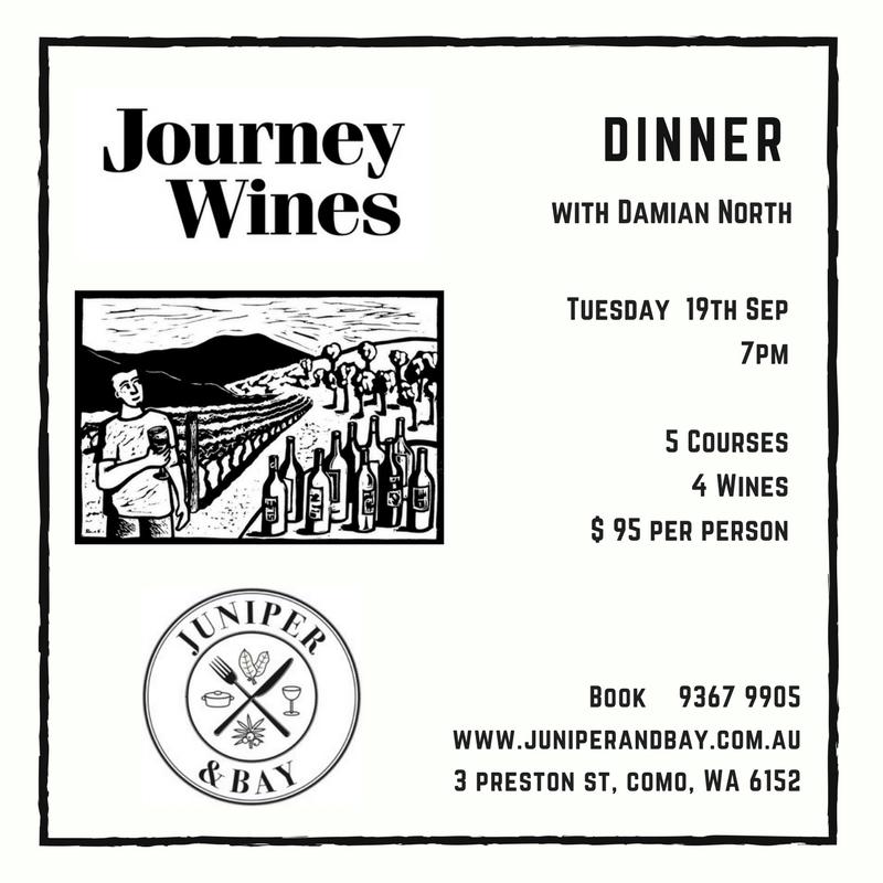 Journey Wines Dinner