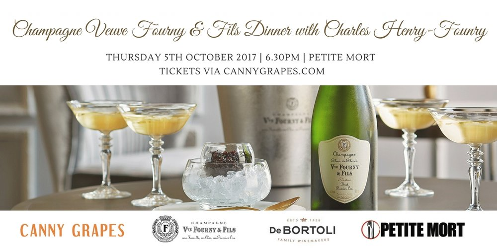 Canny Grapes Veuve Fourny & Fils Dinner at Petite Mort