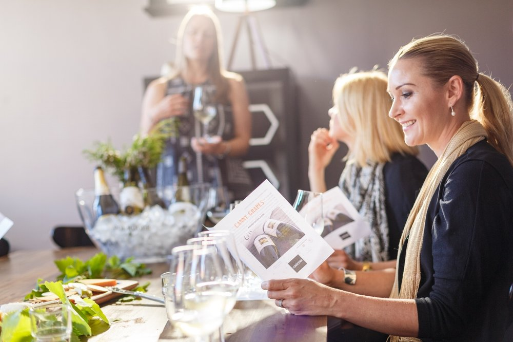 Canny Grapes Wine Tasting Class