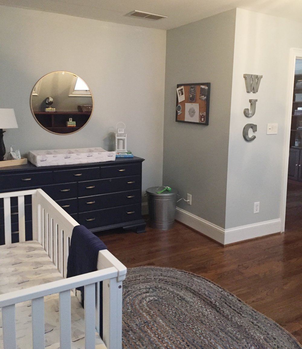 Baby Boy Nursery | Nursery | Baby Boy | Nautical | Parenting | Navy Nursery