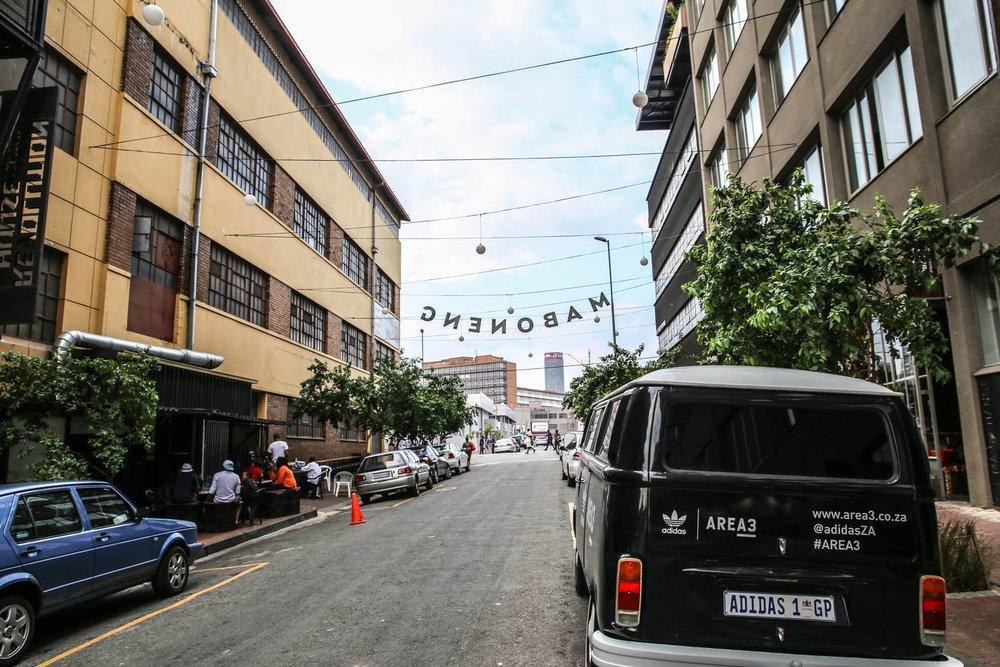 Kruger Street Maboneng Living Room