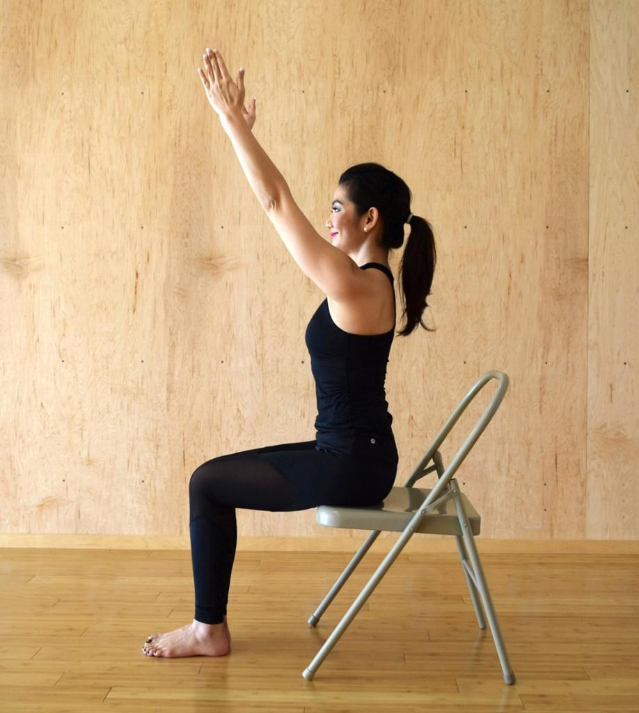 Iyengar Chair Yoga -