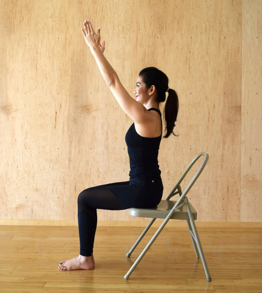 Iyengar Chair Yoga