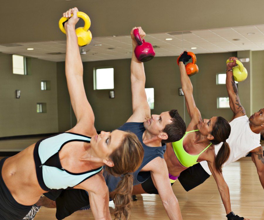 Kettle Bells Pilates