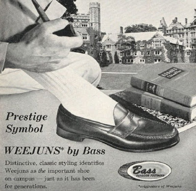 Old Bass Weejuns ad.