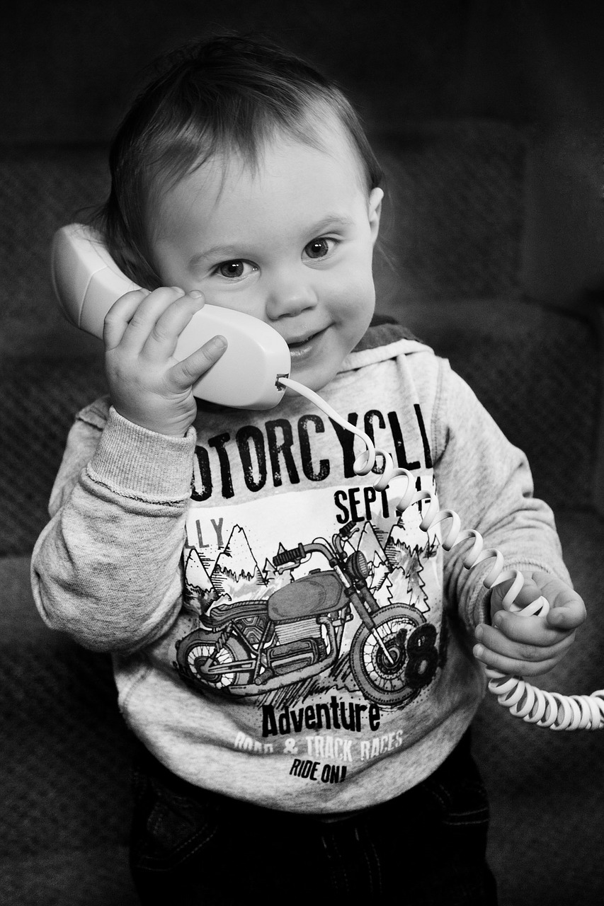 'Hello? Yes, this is Baby. How can I help?'
