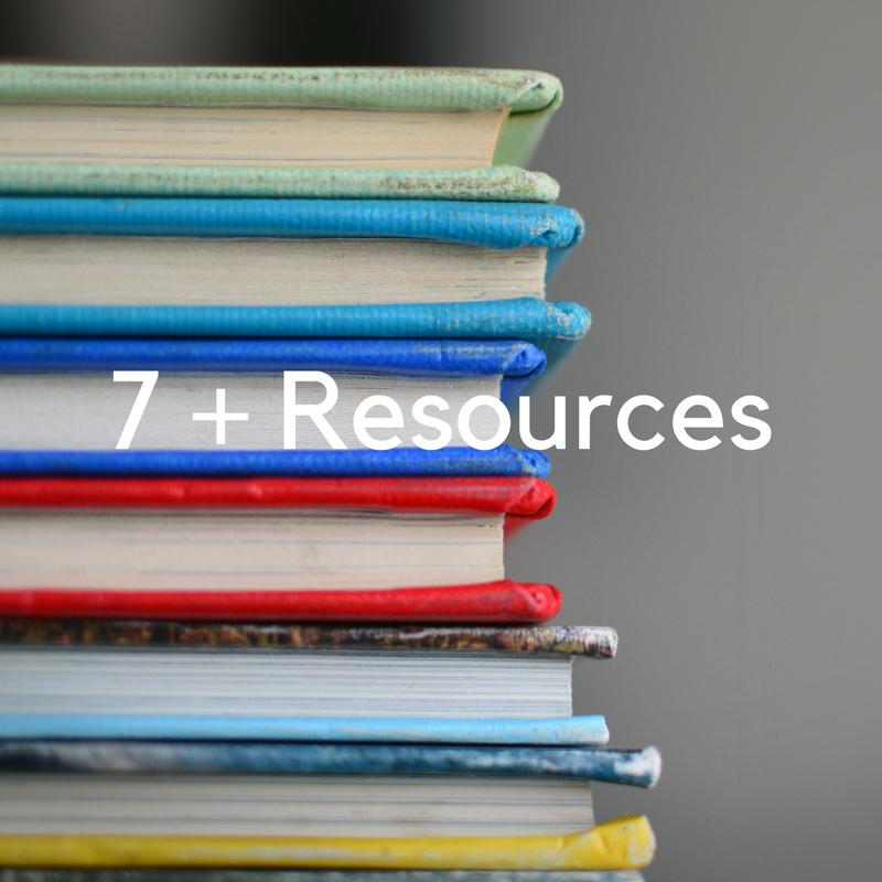 Click here to find a library of different resource for students taking the 7 plus