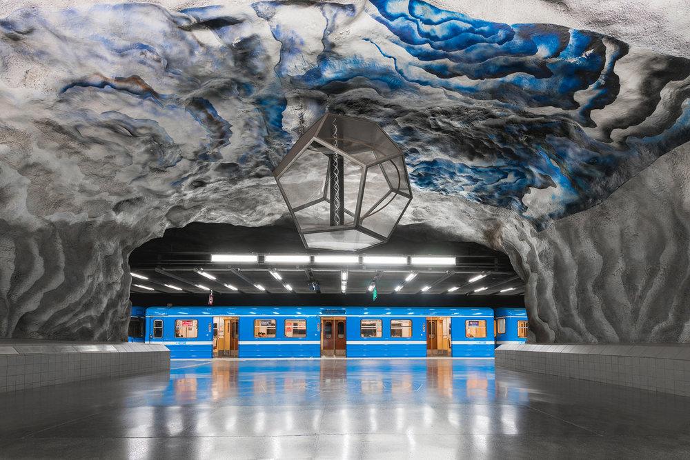 Tekniska Högskolan Metro Station, Sweden - 2017