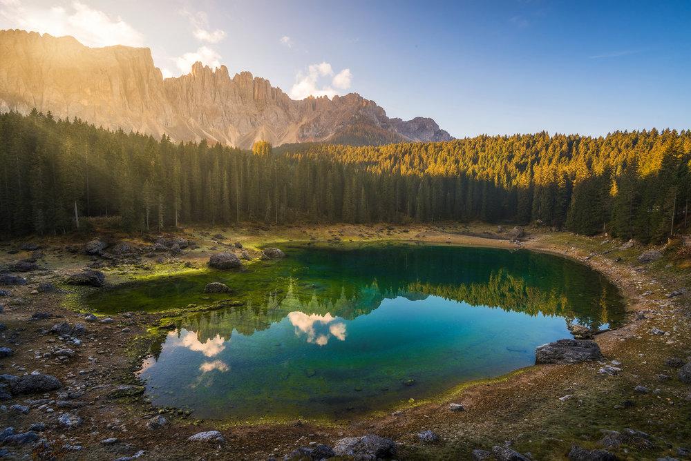Lago di Carezza, Italy - 2018