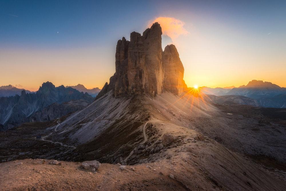 Tre Cime di Laverdo, Italy - 2018