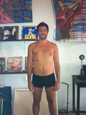 Ryan pre-training, pre-illness. 211 lbs.