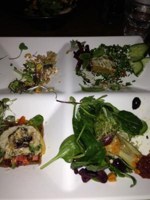 A meal Jessica devoured at Live Food Bar. ;)