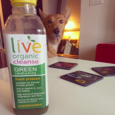 I found this awesome green drink from Live!