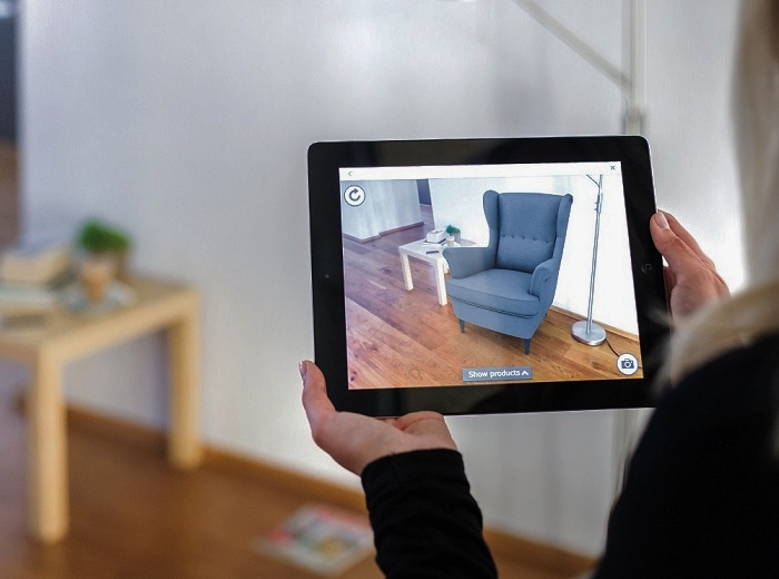 Augmented Reality - n. a technology that superimposes a computer-generated image on a user's view of the real world, thus providing a composite view.