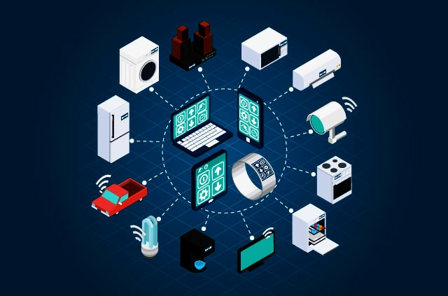 Internet of Things - the interconnection via the Internet of computing devices embedded in everyday objects, enabling them to send and receive data.