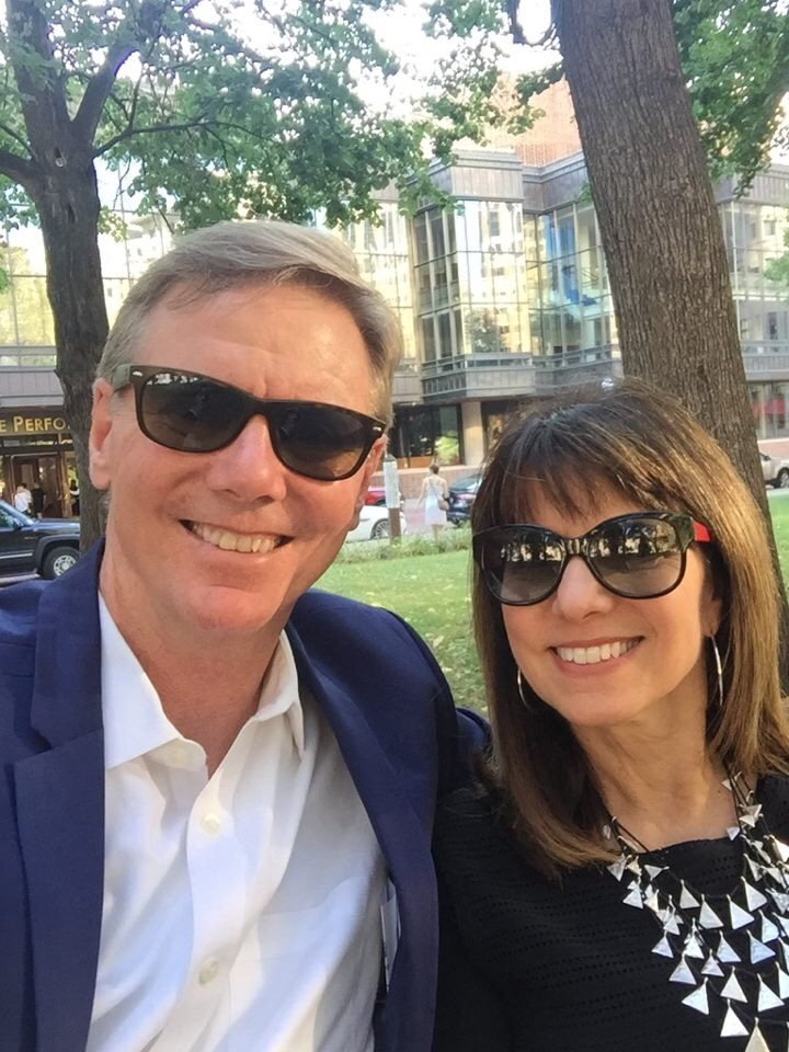 Anne and Kevin celebrating 38 years of marriage July 2017.