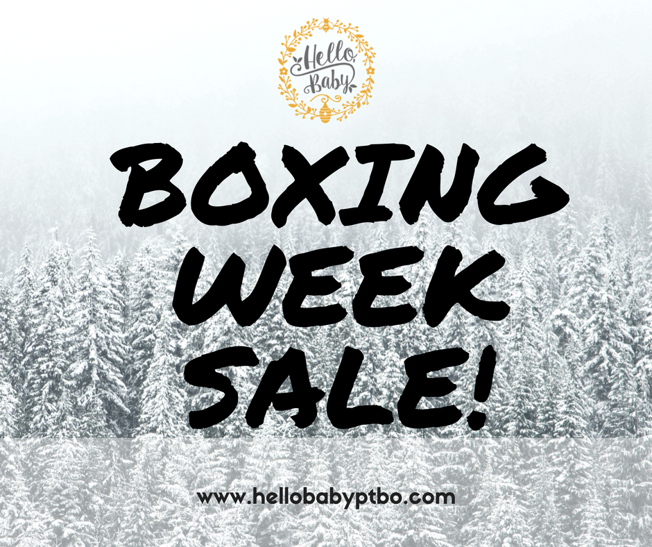 Peterborough doula Hello Baby boxing week sale