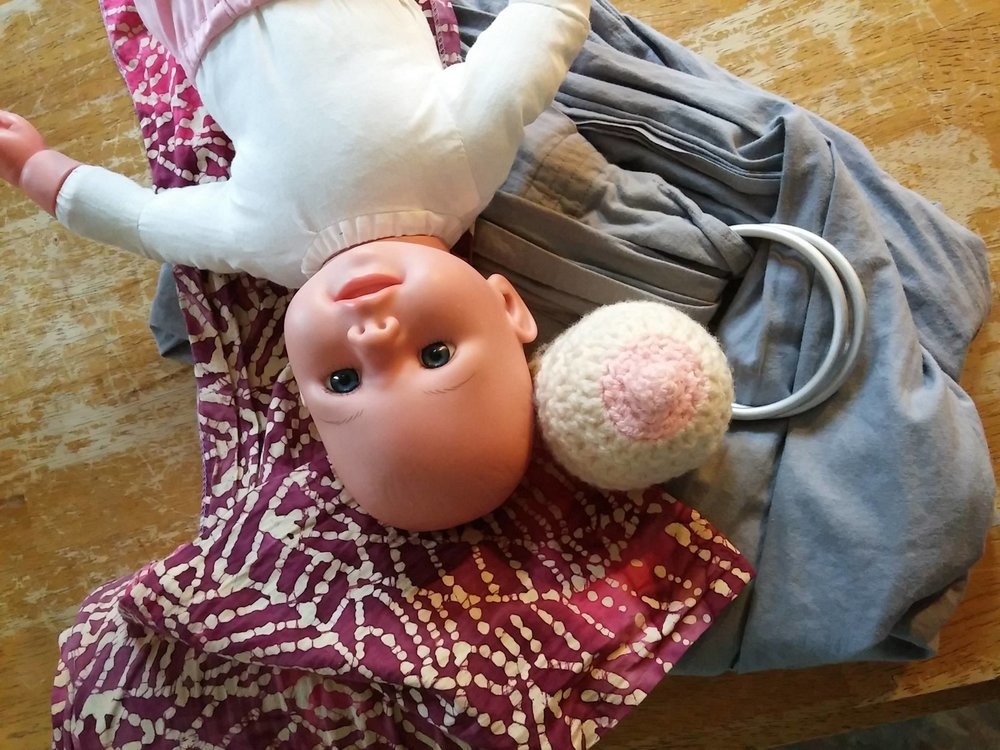 From booby balls to baby dolls, Hello, Baby! classes keep things light and interactive with props, videos, and demonstrations!