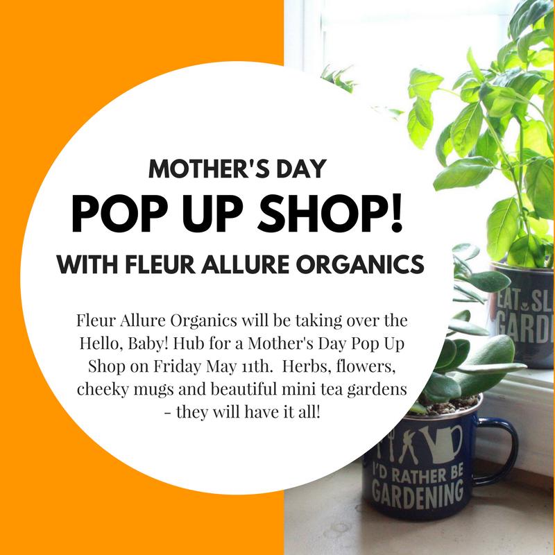 Hello Baby Fleur Allure Pop Up Shop