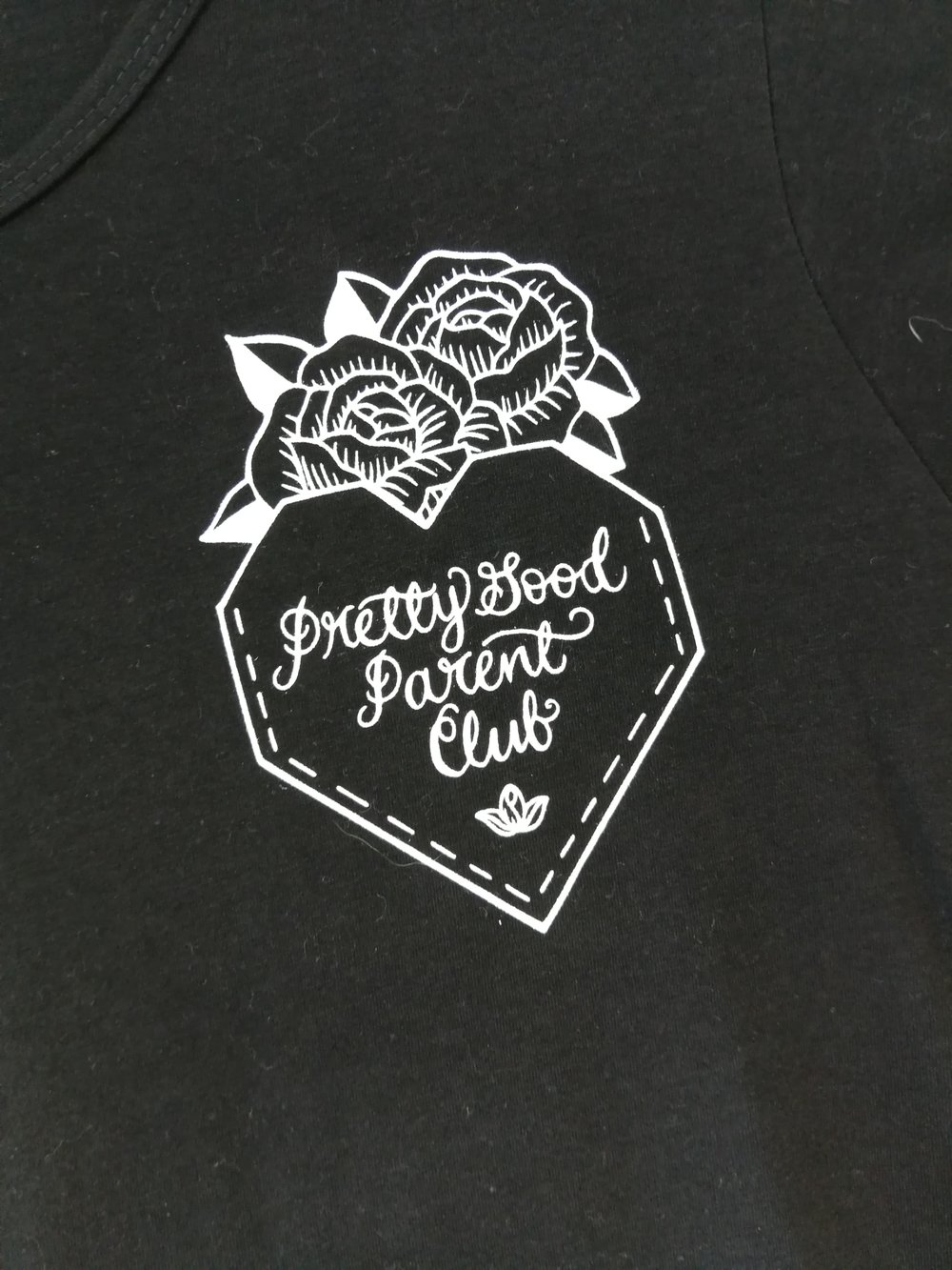 Keepin' it real with our Pretty Good Parent Club T-Shirt available in sized M - XXL.
