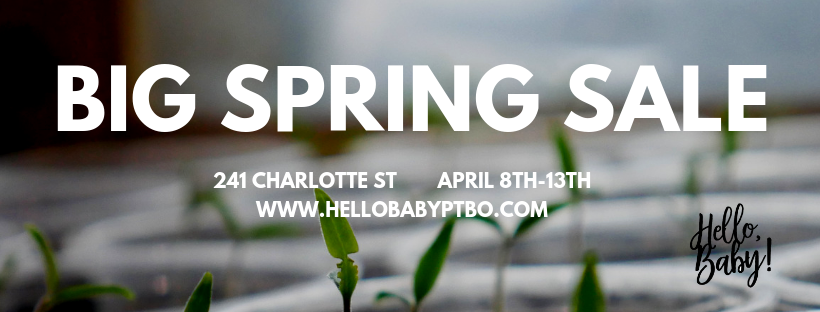 Hello, Baby! Big Spring Sale