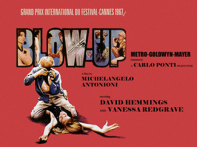 Poster for the movie Blowup