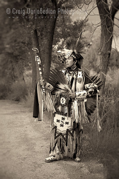 Omaha Dancer, Ranchos de las Golondrinas, nr. Santa Fe, New Mexico 2013