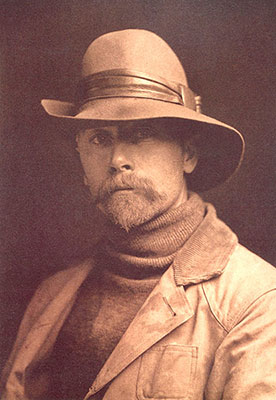 Edward Sheriff Curtis, Self Portrait 1899