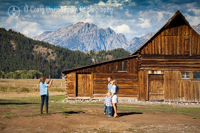Moulton Barn, Mormon Row, Autumn, Grand Teton National Park, Jackson Hole, WY  2013   Photograph ©Craig Varjabedian