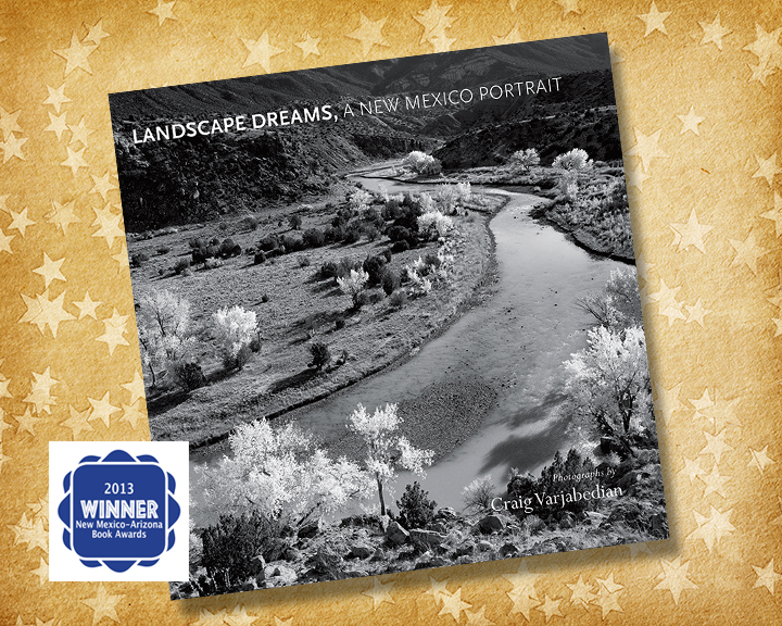 Landscape Dreams, A New Mexico Portrait wins 2013 New Mexico-Arizona Book Award